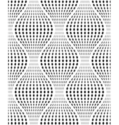 Iridescent Texture with Oval Dots Seamless Pattern vector image
