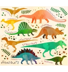 Jurassic park vector image