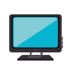Monitor pc computer vector