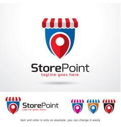 Store logo template vector