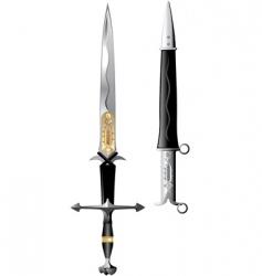 Sword rose vector