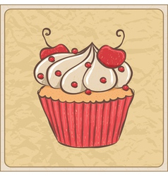 cupcakes08 vector image vector image