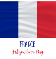 14 july france independence day background vector image