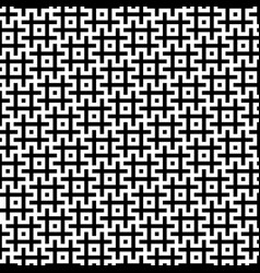 Black and white hashtags seamless pattern vector