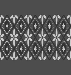 Black floral texture vector