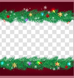 Luxury christmas social media for promote isolate vector