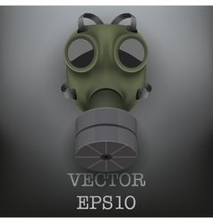Retro gas mask vector