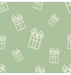 Gift Pattern Six vector image