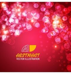 Bokeh abstract background concept vector