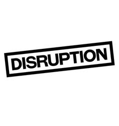 Disruption stamp typ vector