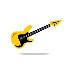 Electric Guitar Cartoon vector