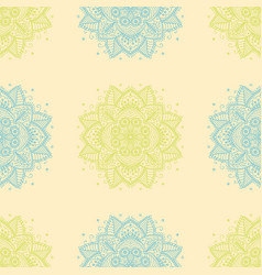 Indian pattern arabic oriental motifs vector