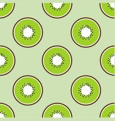 kiwi summer fruit vector image