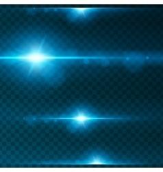 Light effect flare lighting vector