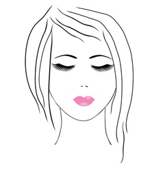 spa facial vector image