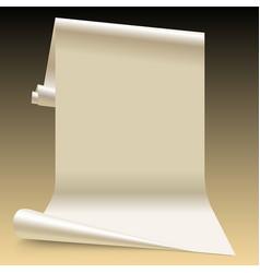 paper sheet vector image vector image