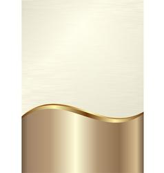 cream background vector image vector image