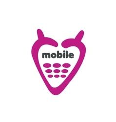 Logo phone vector