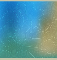 Abstract topography design background vector