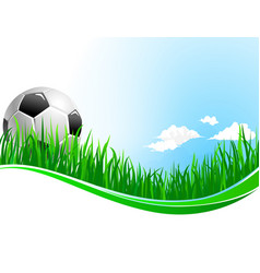 Background for football soccer sport vector