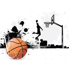Basketballer vector