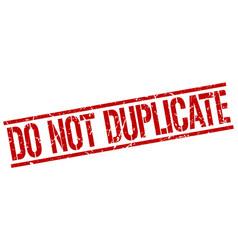 Do not duplicate stamp vector