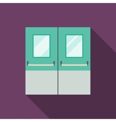 Double Doors vector image