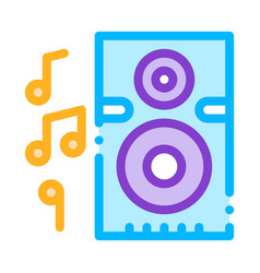 musical dynamic device for listening songs vector image