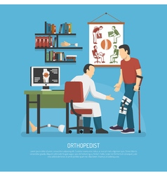 Orthopedics Design Concept vector image