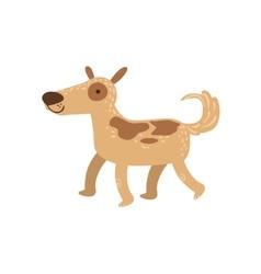 Shepherd Dog Walking vector image