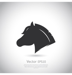 Sign Horse logo vector