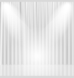 stage curtain background vector image