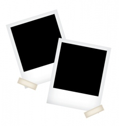 photo frame templates vector image vector image