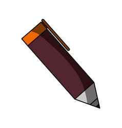 isolated cute pen vector image