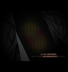 Metal art pattern vector