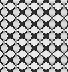 Modern background from flower shape- seamless vector image