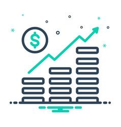 Money growth vector