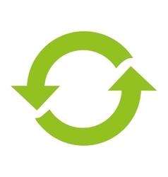 Recycle arrows reuse symbol vector