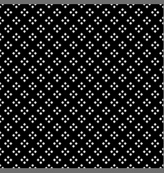 white square diamond seamless on black background vector image