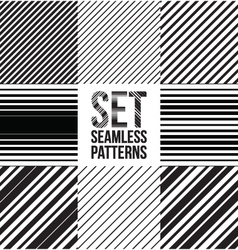 Seamless pattern lines vector image vector image