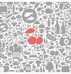 Meal a background4 vector image vector image
