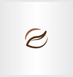 coffee icon line logo design symbol vector image