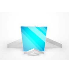 Ad stand vector