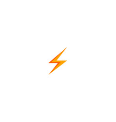 bolt logo vector image