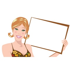 brown board vector image
