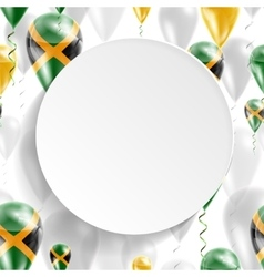 Flag of Jamaica vector