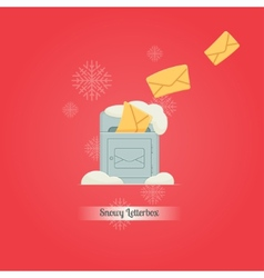 Letterbox and Letters vector