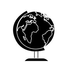 Planet school isolated icon vector