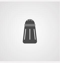 salt icon sign symbol vector image