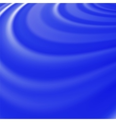 Abstract glowing blue waves vector